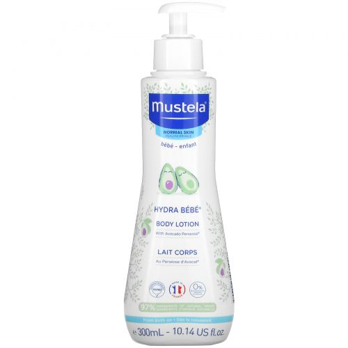 Mustela, Baby, Hydra Baby Body Lotion with Avocado, For Normal Skin, 10.14 fl oz (300 ml)