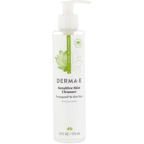 Derma E, Успокаивающее очищающее средство, с антиоксидантом пикногенолом, 6 жидкой унции (175 мл)