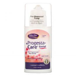 Life Flo Health, Progesta крем для ухода за  телом с эстриолом и прогестероном, 113.4 г