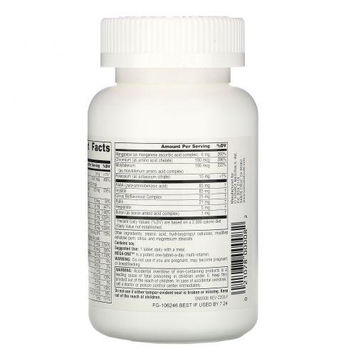Source Naturals, Mega-One, Высокоэффективные мультивитамины и минералы, 60 таблеток
