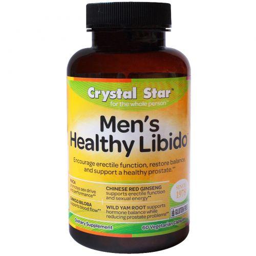 Crystal Star, Мужское либидо, 60 вегетарианских капсул