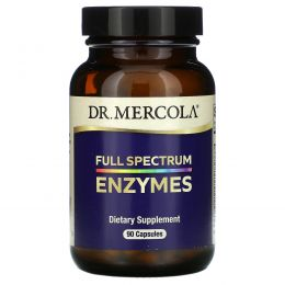 Dr. Mercola, Enzymes, Full Spectrum, 90 Capsules