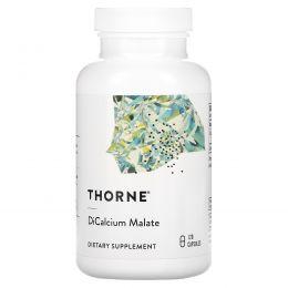 Thorne Research, Дикальций малат, 120 капсул в растительной оболочке