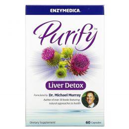 Enzymedica, Очищение, детоксикация печени, 60 капсул