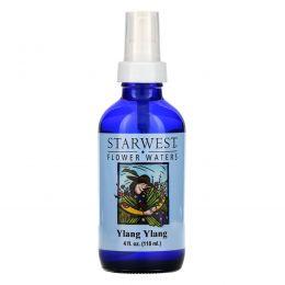 Starwest Botanicals, Цветочные воды, иланг-иланг, 4 жидк. унц. (118 мл)