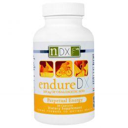 Natural Dynamix (NDX), Добавка Вечная Энергия и Выносливость Endure DX, 30 капсул
