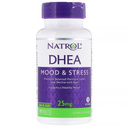Natrol, DHEA, Mood & Stress, 25 mg, 180 Tablets