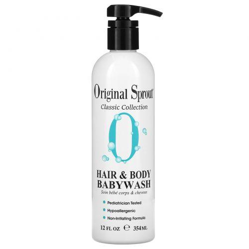 Original Sprout Inc, Детское средство для мытья волос и всего тела, для младенцев и старше, 12 жидких унций (354 мл)