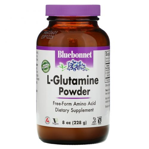 Bluebonnet Nutrition, Порошок L-глютамин, 8 унций (228 г)