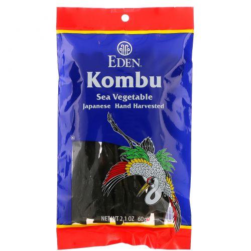Eden Foods, Морская капуста, морские овощи, 2,1 унции (60 г)