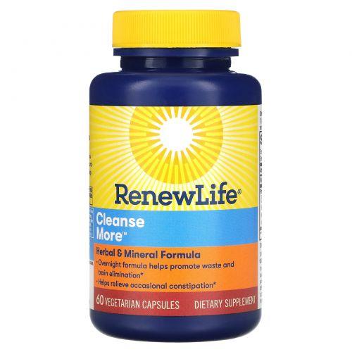 Renew Life, CleanseMore, 60 растительных капсул