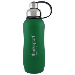 Think, Thinksport, герметичная бутылка для спортсменов, зеленая, 25 унций (750 мл)