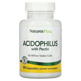 Nature's Plus, Лактобактерии Ацидофилус, 90 Капсул