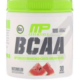 MusclePharm, BCAA Essentials, Watermelon, 0.48 lbs (216 g)