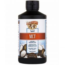 Barlean's, MCT (триглицериды средней цепи), кокос, жидкая смесь, 16 унций (454 г)