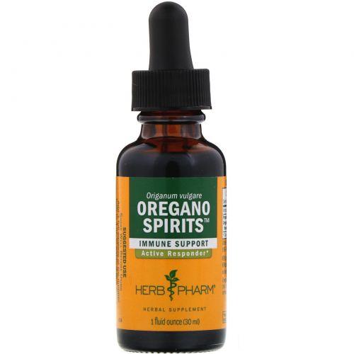Herb Pharm, Напиток из душицы, 1 жидкая унция (29.6 мл)