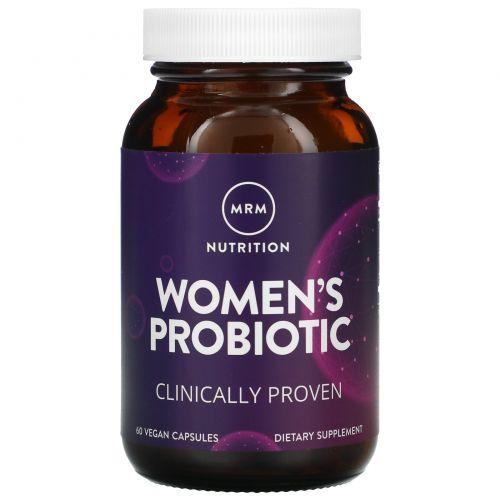 MRM, Женский пробиотик, 60 веганских капсул