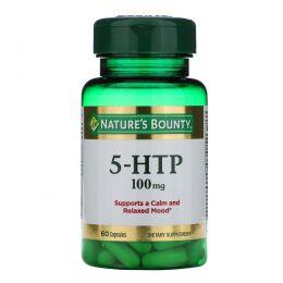 Nature's Bounty, 5-гидрокситриптофан, 200 мг, 60 капсул