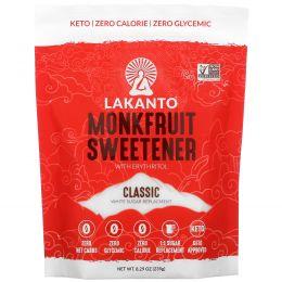 Lakanto, Архатовый подсластитель с эритритом, Классический, 235 г (8.29)
