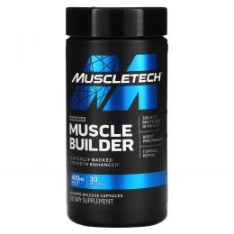 Muscletech, Pro Series, Muscle Builder, 30 Rapid-Release Capsules