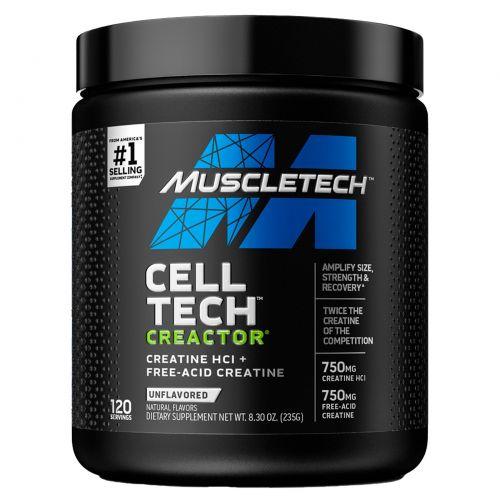 Muscletech, Creactor, без вкусовых добавок, 7,16 унций (203 г)