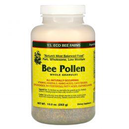 Y.S. Eco Bee Farms, Пчелиная пыльца Цельные гранулы, 10,0 унции (283 г)
