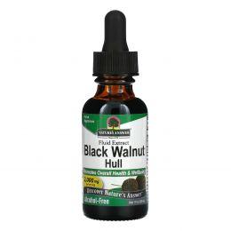 Nature's Answer, Черный орех, без алкоголя, 2000 мг, 30 мл (1 жидкая унция)