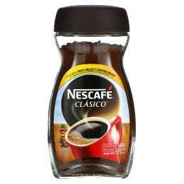 """Nescafé, """"Класико"""", растворимый кофе, темной обжарки, 7 унций (200 г)"""