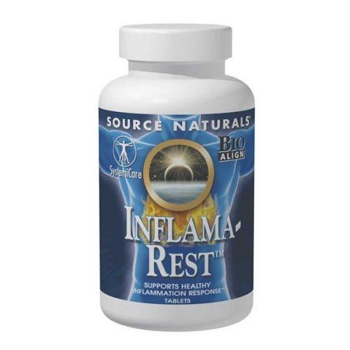 Source Naturals, Пищевая добавка Inflama-Rest, 60 таблеток