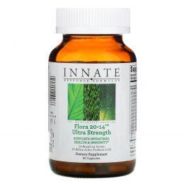 Innate Response Formulas, Ультра интенсивный пробиотик Флора 20-14, 60 капсул