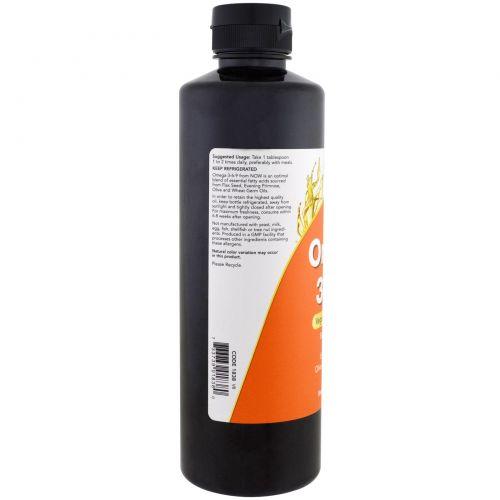 Now Foods, Омега 3-6-9, 16 жидких унций (473 мл)