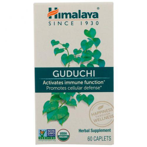 Himalaya Herbal Healthcare, Гудучи, 60 капсуловидных таблеток