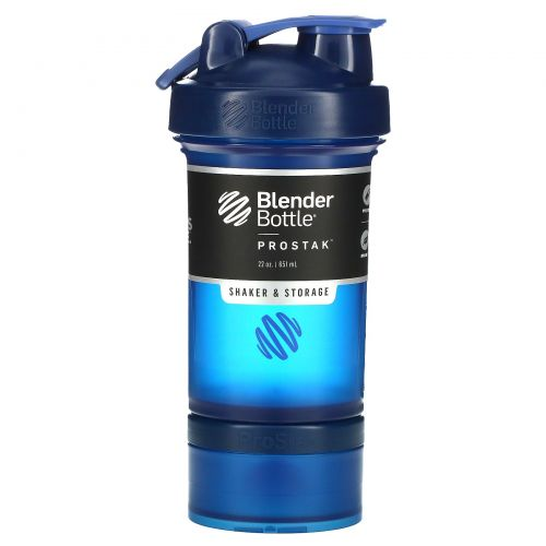 Sundesa, BlenderBottle, ProStak, Navy, 22 oz