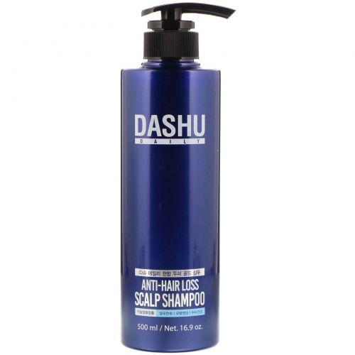 Dashu, Шампунь для кожи головы против выпадения волос, 16,9 унций (500 мл)