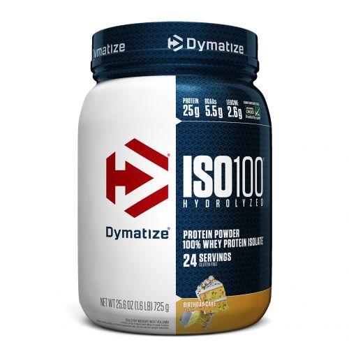 Dymatize Nutrition, ISO100 гидролизованный, 100% изолят сывороточного белка, вкус