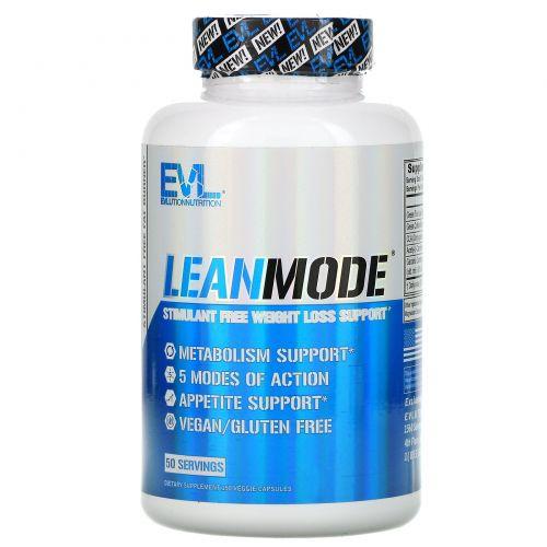 EVLution Nutrition, Lean Mode, Без Стимуляторов, 150 капсул