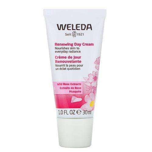 Weleda, Обновляющий дневной крем, Экстракты дикой розы, Для нормальной и сухой кожи, 1,0 ж. унц.(30 мл)