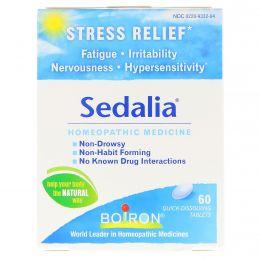 Boiron, Седалия, снятие стресса, 60 быстрорастворимых таблеток